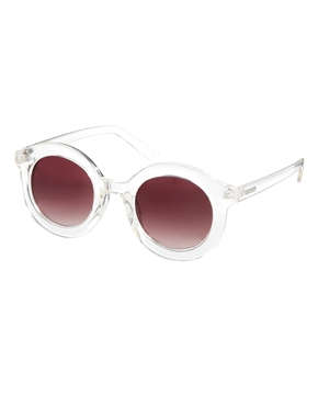 Minkpink | Minkpink Walk This Way Round Sunglasses at ASOS