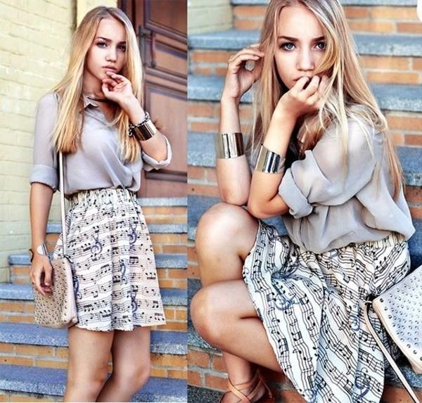 skirt aksinya air ukraine shirt bracelets bag