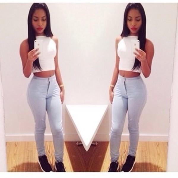 jeans blouse shoes shirt pants
