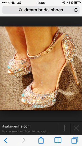 shoes ab bling strap shoes