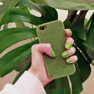 phone cover green iphone cover iphone case grass fashion style cool trendy boogzel tumblr iphone phone girl girly girly wishlist