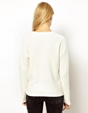 ASOS | ASOS Sweater With Side Zip Detail at ASOS