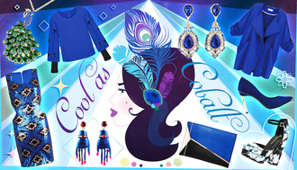 macademian girl blogger blue blue dress sequin dress earrings heels coat jewels blouse dress shoes skirt romper bag