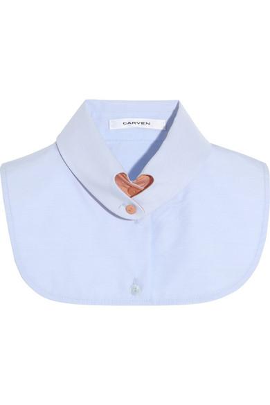 Carven|Cotton collar |NET-A-PORTER.COM