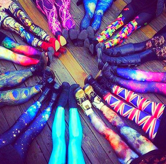 pants neon leggings galaxy print checkered union jack peacock legging colorful patterns black lace