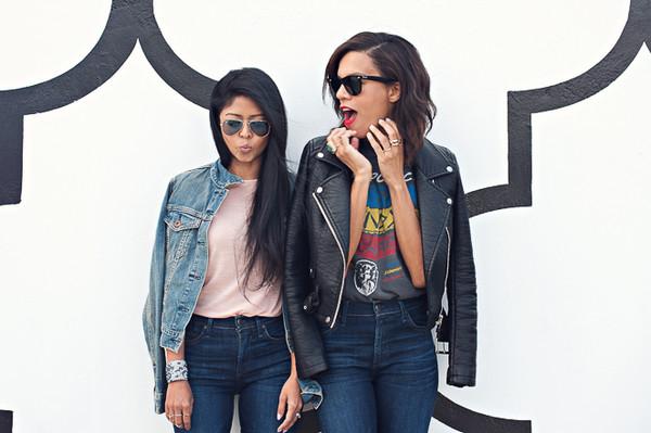 walk in wonderland t-shirt jeans jacket shoes bag jewels