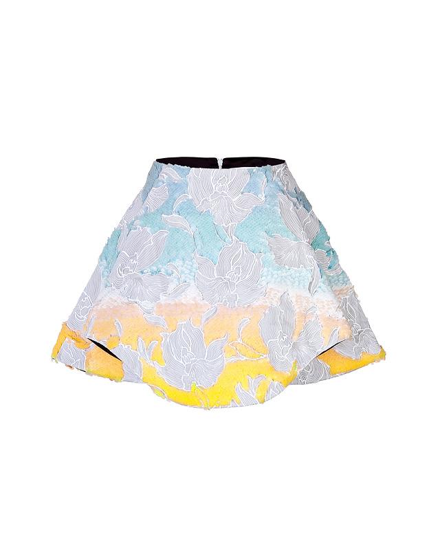 SequinedCrescentSkirtfromPETERPILOTTO | Luxury fashion online | STYLEBOP.com