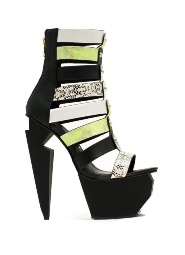 shoes neon fierce