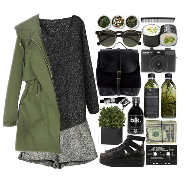 jacket Choies oliver green choies jacket army green jacket