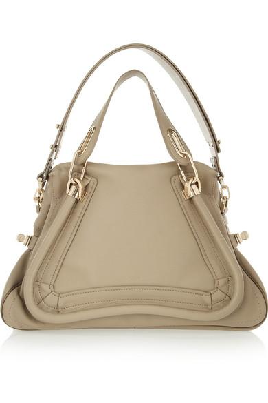 Chloé|Paraty medium leather shoulder bag|NET-A-PORTER.COM