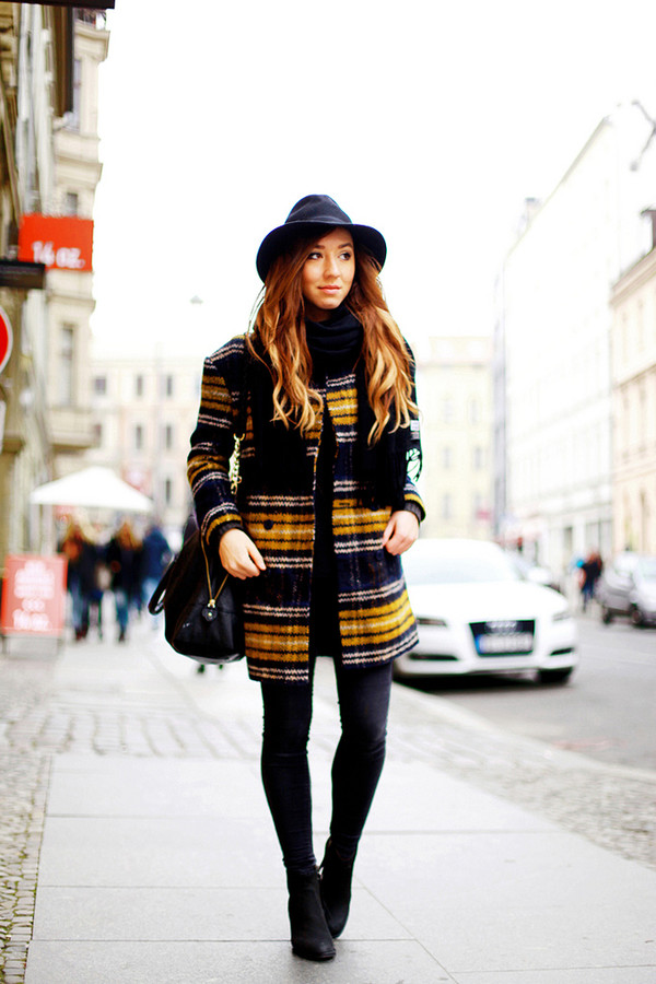 flirting with fashion coat shirt jeans hat shoes scarf