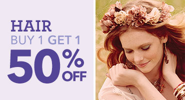 Crown of Flowers Headwrap  | Claire's