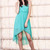 Collared Tulip Hem Dress-Mint | Obsezz