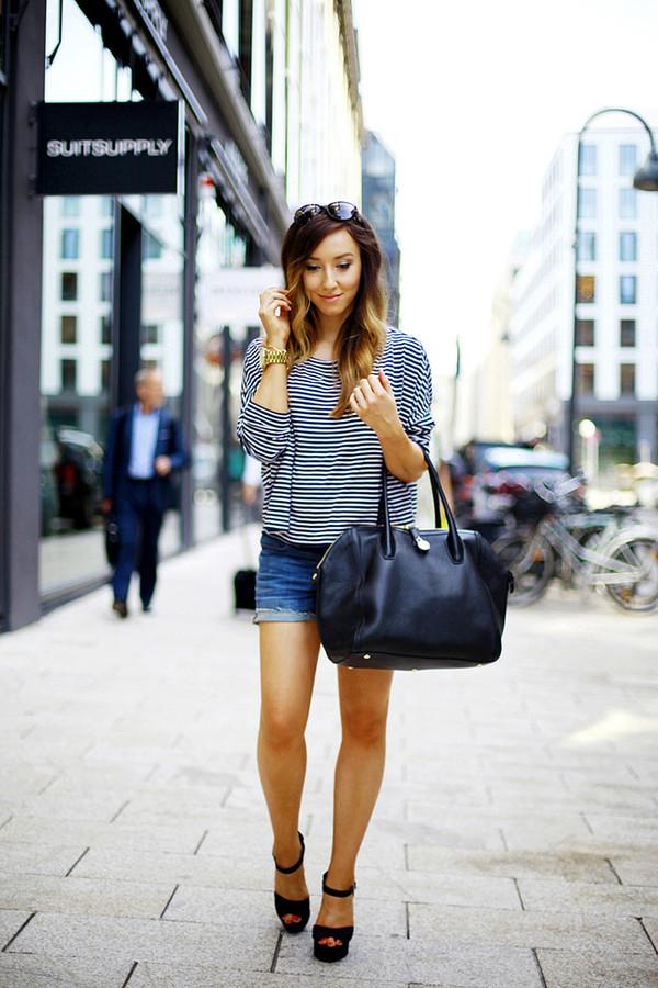 flirting with fashion shirt shorts shoes bag sunglasses