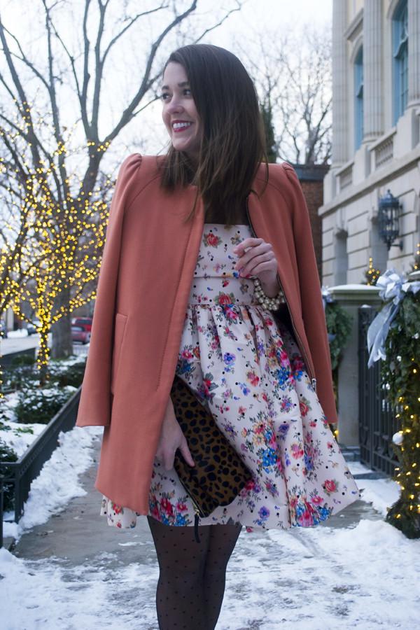 sequins and stripes dress shoes coat bag jewels
