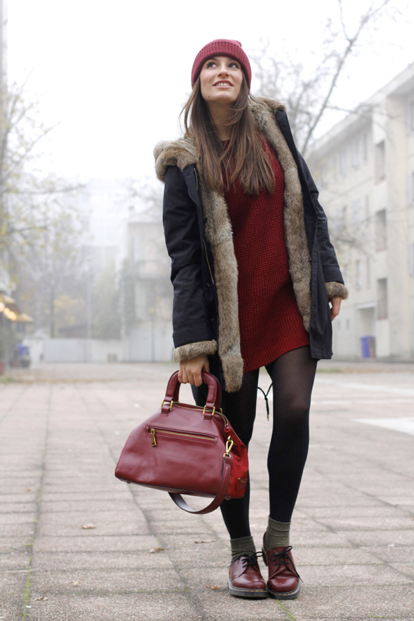 style and trouble shoes bag sweater coat hat