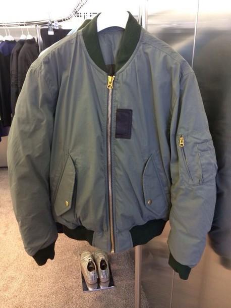 bomber jacket boyish jacket