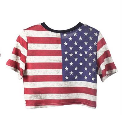 summer | American Flag Crop Top Tee #merica | Online Store Powered by Storenvy