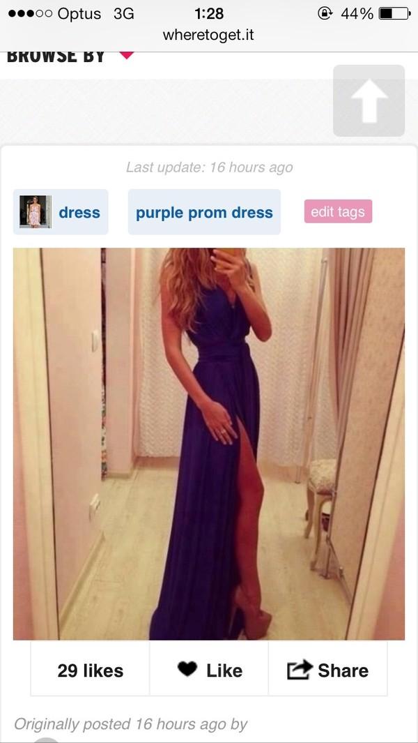 dress slit dress
