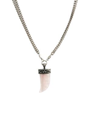 ASOS   ASOS Horn Pendant Necklace at ASOS