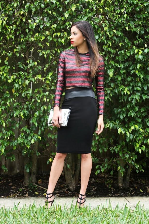 kqns style t-shirt skirt bag shoes