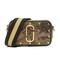 Marc jacobs sequins camo snapshot camera bag - army green multi