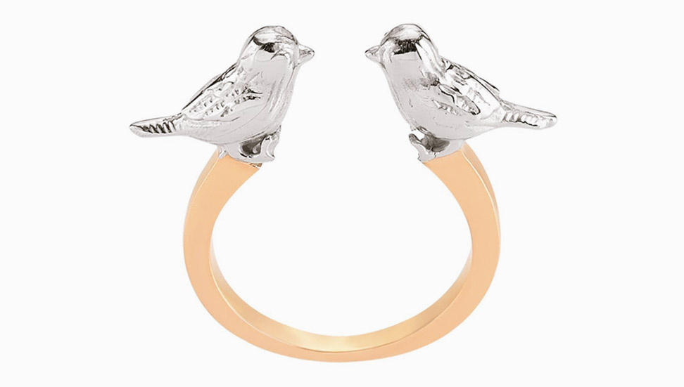 Paris Love Ring Gold | Mademoiselle Felee
