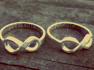 jewels bff jewelry ring friendship infinity infinity ring forever cute