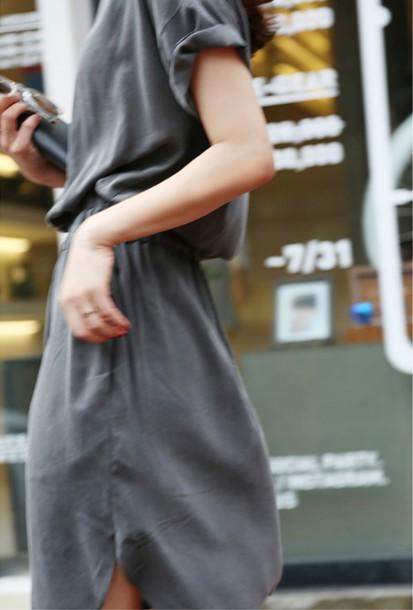 dress silk gathered topshop asos scalloped scalloped edges