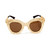 FLORAL GOLD SUNGLASSES / back order – HolyPink