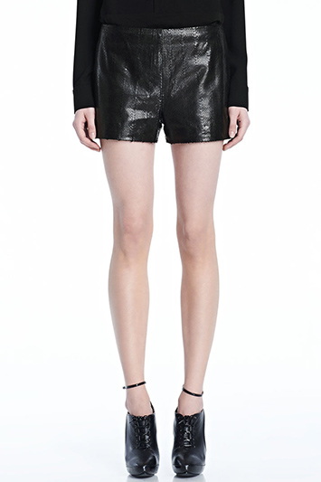 Tullia Leather Short | J Brand
