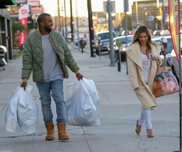 jacket kanye west bomber jacket green jacket kim kardashian kardashians