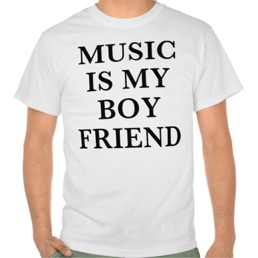 music boyfriend tee shirts | Zazzle.co.uk