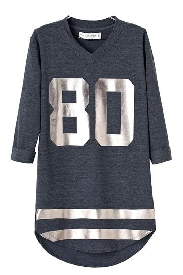 Street Style V-neck NO.80 Dress [FXBI00461]- US$ 25.99 - PersunMall.com