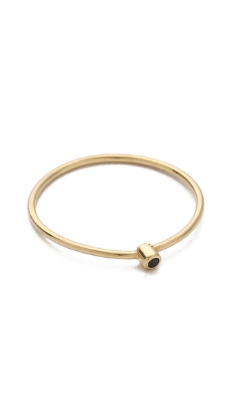 Jennifer Meyer Jewelry Thin Ring With Sapphire |SHOPBOP | Save up to 30% Use Code BIGEVENT14