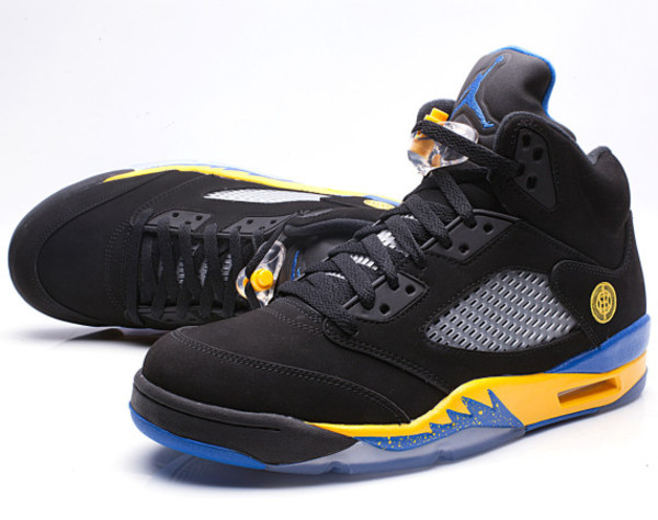 shoes nike sneakers sneakers jordans shanghi jordans blue yellow black air jordan