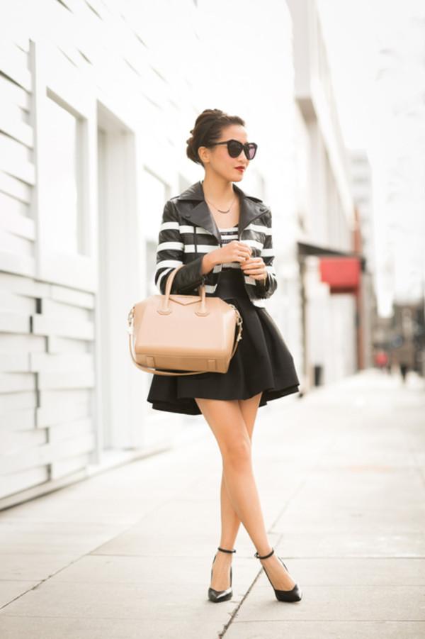wendy's lookbook t-shirt jacket shoes bag belt sunglasses jewels