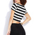 Bold Stripes Crop Top | FOREVER21 - 2000129715
