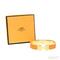 Hermes inspired enamel clic h bracelet / thefashionmrkt
