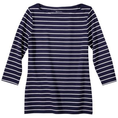 Merona® Women's 3/4 Sleeve Refined Boat Neck... : Target