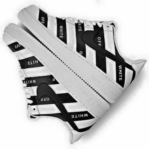 shoes off-white af1 low virgil abloh god level streetstyle fashion killa stripes