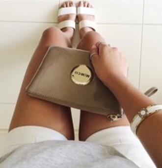 bag mimcopouch mimco caramel medium purse medium gold women brown coffee colour