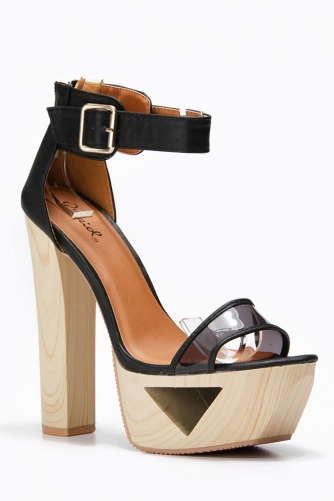 Ankle Strap Cut Out Platform Sandals @ Cicihot Wedges Shoes Store:Wedge Shoes,Wedge Boots,Wedge Heels,Wedge Sandals,Dress Shoes,Summer Shoes,Spring Shoes,Prom Shoes,Women's Wedge Shoes,Wedge Platforms Shoes,floral wedges