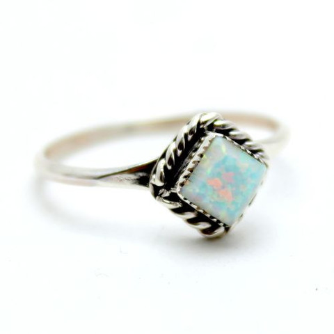 Rain Drop Navajo Opal Ring | Child of Wild