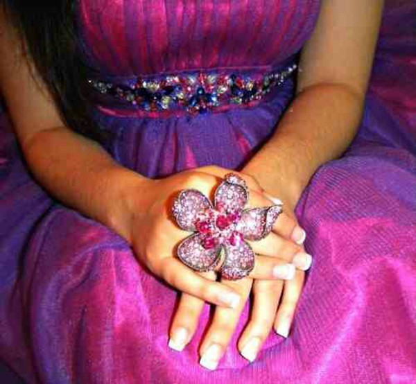 jewels flowers ring flower ring jewelry