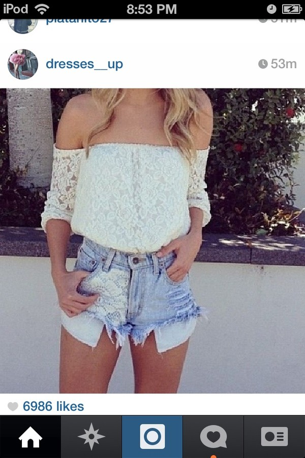 blouse white jeans