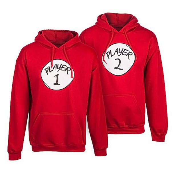 jacket hoodies shirt player hipster top matching couples couple sweaters couple sweaters