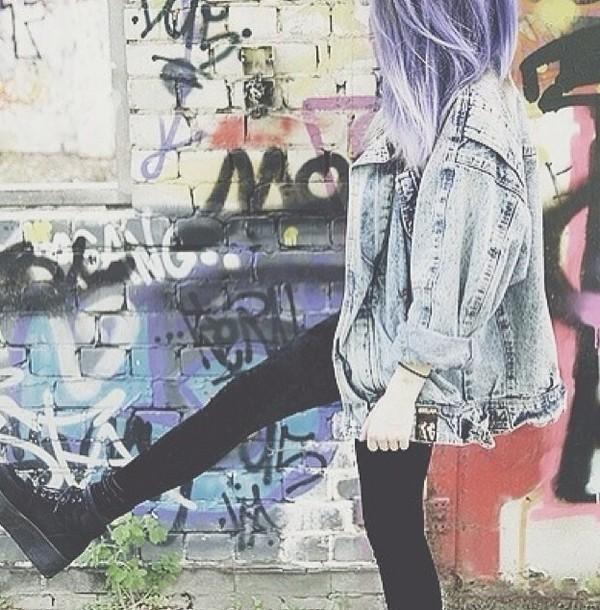 shoes grunge jacket denim denim jacket