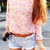 3D Mesh Lace Rose Floral Long Sleeve Jumper Top Sweater   eBay