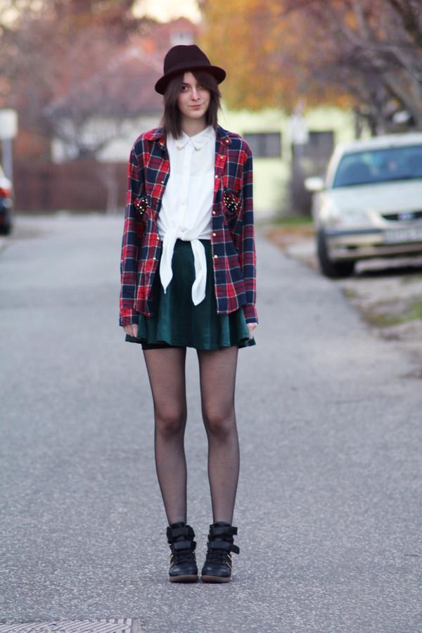 mes memos shirt skirt hat shoes